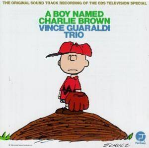 Vince Guaraldi Trio: Boy Named Charlie Brown, A - Cover