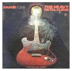 Cover - Mahogany Rush: Sounds - Vol. 4: The Heavy Metal Album [CBS]