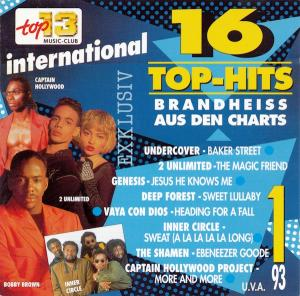 Top 13 Music-Club - 16 Top Hits Aus Den Charts - 1/93 - Cover