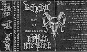 Impaled Nazarene / Beherit: Day Of Darkness Festifall (Split-Tape) - Bild 2