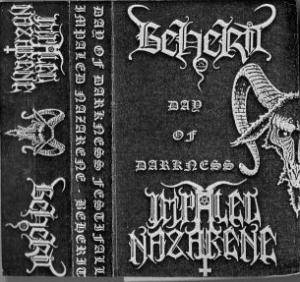 Impaled Nazarene / Beherit: Day Of Darkness Festifall (Split-Tape) - Bild 1