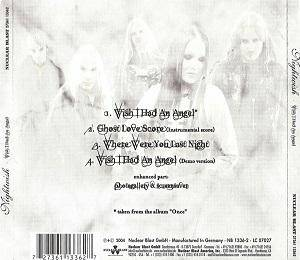 Nightwish: Wish I Had An Angel (Single-CD) - Bild 2