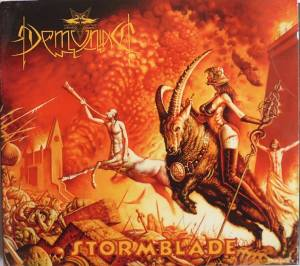 Demoniac: Stormblade - Cover