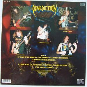 Benediction: The Grand Leveller (LP) - Bild 3