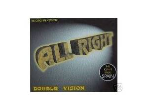 Cover - Double Vision: All Right
