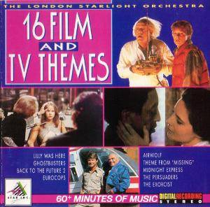 London Starlight Orchestra - 16 Film And TV Themes, The - Cover