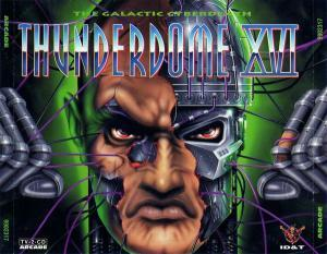 Thunderdome XVI - The Galactic Cyberdeath - Cover