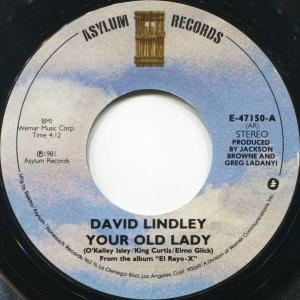 David Lindley: Your Old Lady - Cover