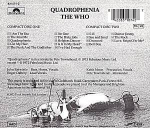 The Who: Quadrophenia (2-CD) - Bild 2