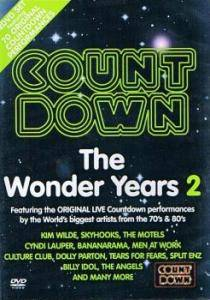Cover - Richard Clapton: Countdown - The Wonder Years 2