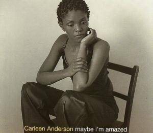 Cover - Carleen Anderson: Maybe I'm Amazed