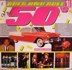 Rock And Roll Of The 50's Volume 1 - Cover