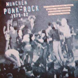 München In Punk-Rock 1979-82 - Cover