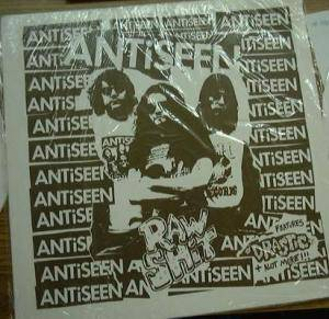 Cover - Antiseen: Raw Shit