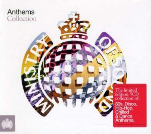 Anthems: Collection - Cover