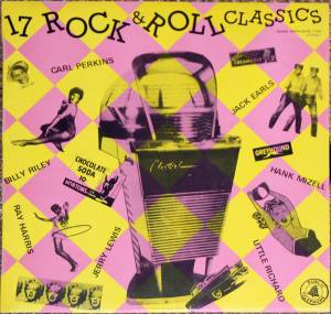 Cover - Ray Harris: 17 Rock & Roll Classics