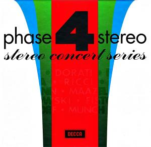 Phase 4 Stereo - Stereo Concert Series - Cover