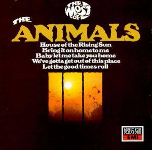 The Animals: Most Of The Animals, The - Cover