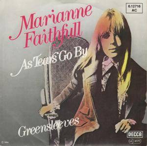 Marianne Faithfull: As Tears Go By - Cover