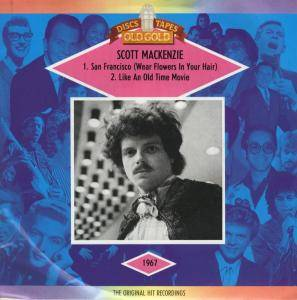 Scott McKenzie: San Francisco / Like An Old Time Movie - Cover
