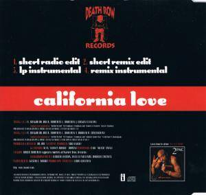 2Pac: California Love (Single-CD) - Bild 3