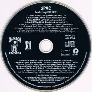 2Pac: California Love (Single-CD) - Bild 4