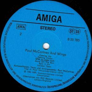 Paul McCartney & Wings: Paul McCartney Und Wings (LP) - Bild 4