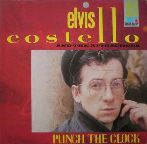Elvis Costello And The Attractions: Punch The Clock - Cover