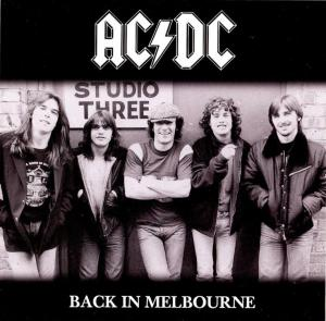 AC/DC: Back In Melbourne - Cover