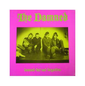 The Damned: Damned But Not Forgotten - Cover