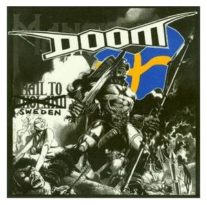 Doom: Hail To Sweden - Cover