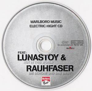 Cover - Lunastoy: Marlboro Music Electric Night CD
