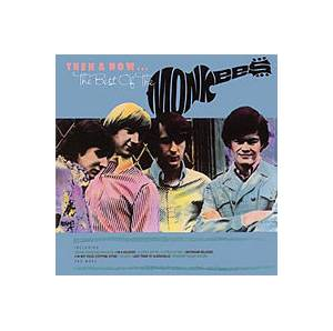 The Monkees: Then & Now... The Best Of The Monkees - Cover