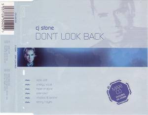 Cover - CJ Stone: Don't Look Back