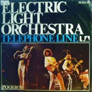 Electric Light Orchestra: Telephone Line - Cover