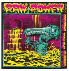Raw Power: Screams From The Gutter / After Your Brain - Cover