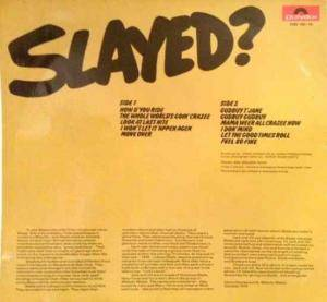 Slade: Slayed? (LP) - Bild 2