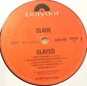 Slade: Slayed? (LP) - Bild 3