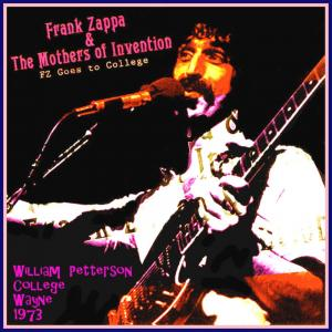 Frank Zappa & The Mothers Of Invention: FZ Goes To College - Cover