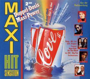 Cover - New Kids On The Block: Maxi Hit Sensation Doppel-Dosis Maxi-Power