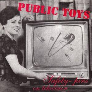 Cover - Public Toys: Safety-Pins On Television
