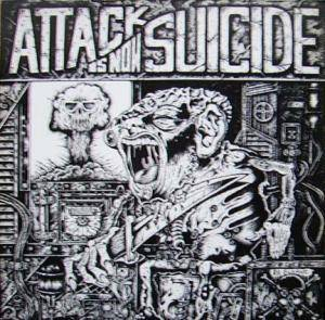 Cover - Asocial: Attack Is Now Suicide