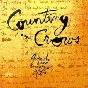 Counting Crows: August And Everything After - Cover