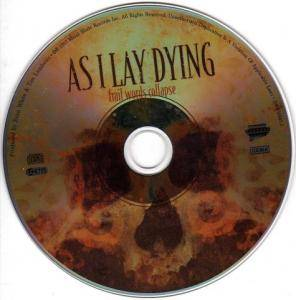 As I Lay Dying: Frail Words Collapse (CD) - Bild 3