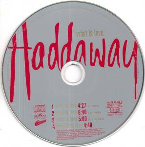 Haddaway: What Is Love (Single-CD) - Bild 4