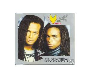 Milli Vanilli: All Or Nothing - Cover