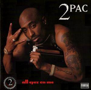 2Pac: All Eyez On Me - Cover