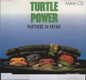 Cover - Partners In Kryme: Turtle Power