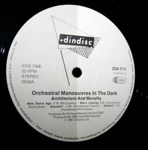 Orchestral Manoeuvres In The Dark: Architecture & Morality (LP) - Bild 2