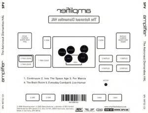 Amplifier: The Astronaut Dismantles HAL (Mini-CD / EP) - Bild 2